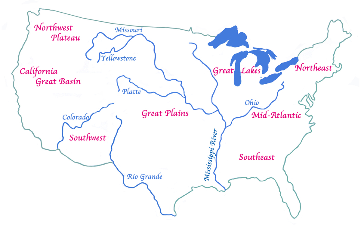 the native american ns native american culture regions