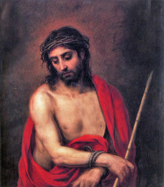Bartolomé Esteban Murillo of Seville, Spain - Ecce Homo - Behold the Man (John 19:5), Museo del Prado, Madrid, 1660.