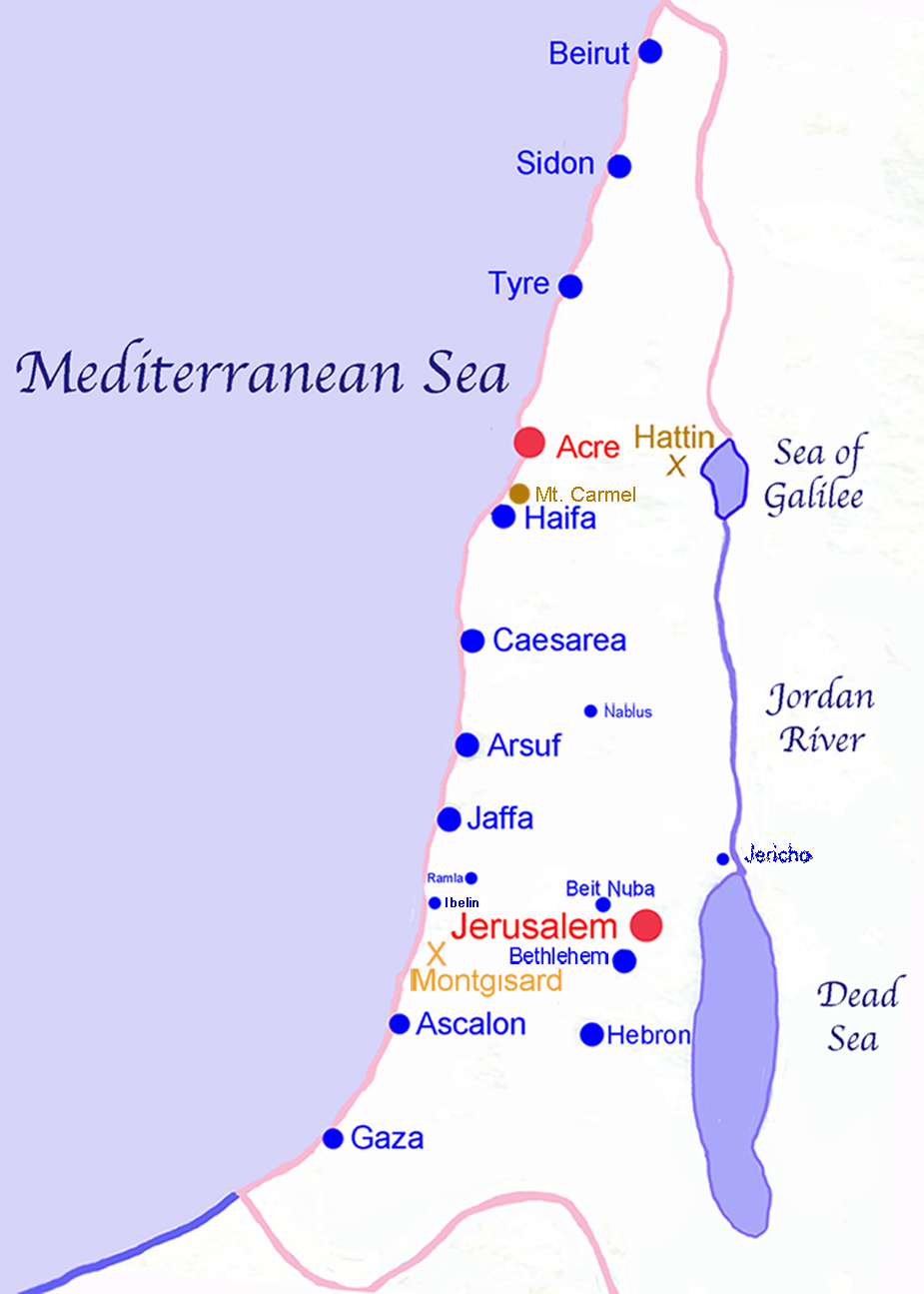 The United Kingdom of Israel under King David, circa 1000 BC.