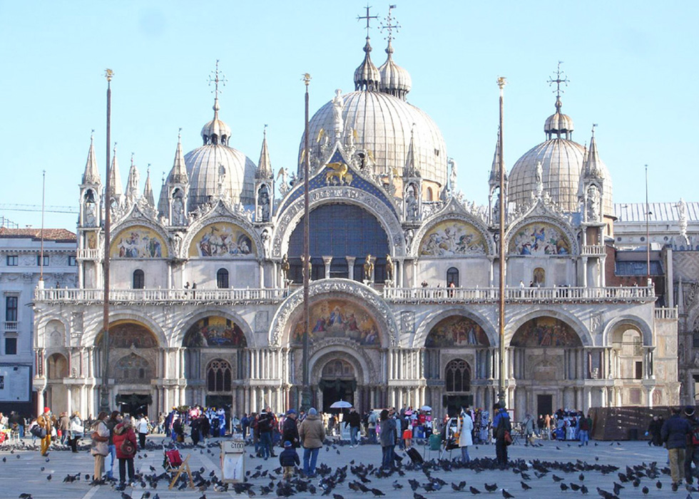 The Cathedral of St. Mark, Venice, Italy.