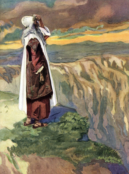 James Jacques Joseph Tissot of Nantes, France - Moses Views the Promised Land (Deuteronomy 34).
